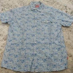 Izod slim fit button up shirt